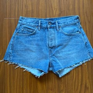 Handcrafted Levi's Rare High Waisted Shorts